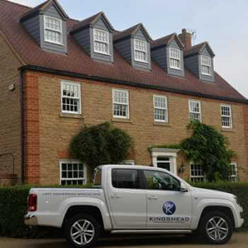 Newbuild House With Kingsmead Conversions Vehicle