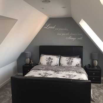 Modern Bedroom Conversion