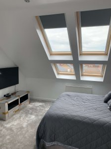 Bedroom Loft With Window