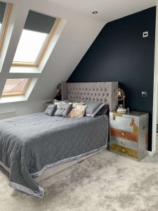 Side View Of Bedroom Conversion