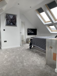 Frontal View Of Bedroom Conversion