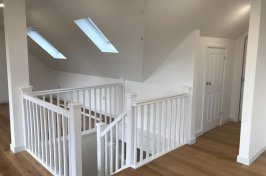 Staircase leading to downstairs of loft conversion