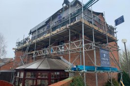 Kingsmead Conversions working on dormer conversion