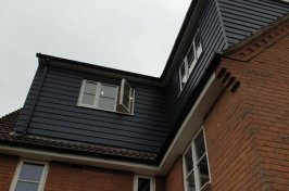 New dormer conversion with window open